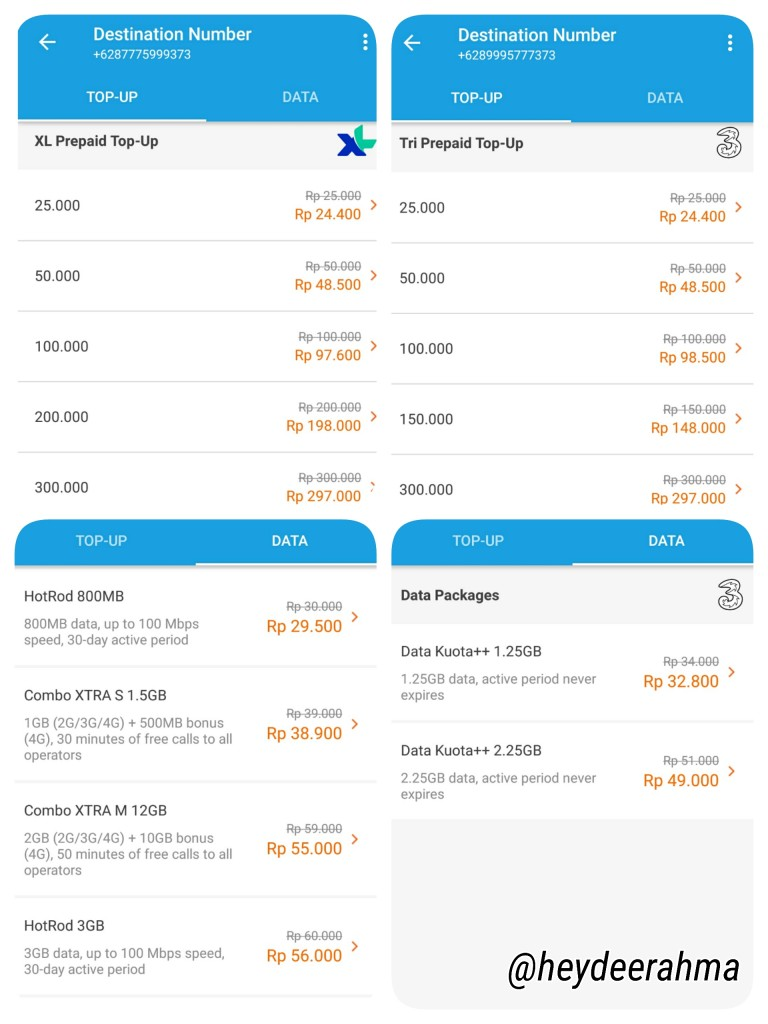 pulsa-dan-paket-internet-xl-dan-3-via-traveloka-rekomendasi-heydeerahma-indonesia-lifestyle-blogger